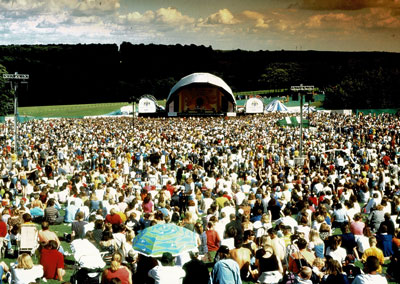 Picture of Party In The Park - Temple Newsam Leeds.  Tony was the event manager for 3 years (1996, 1997 & 1998).  The largest free concert in the UK at the time.