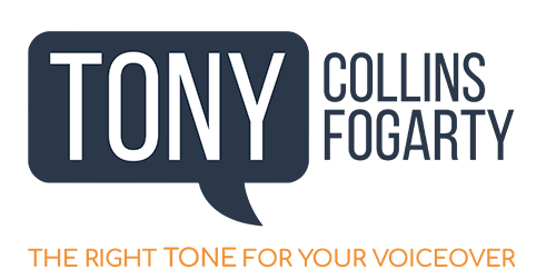 British Male Voiceover - Tony Collins Fogarty.