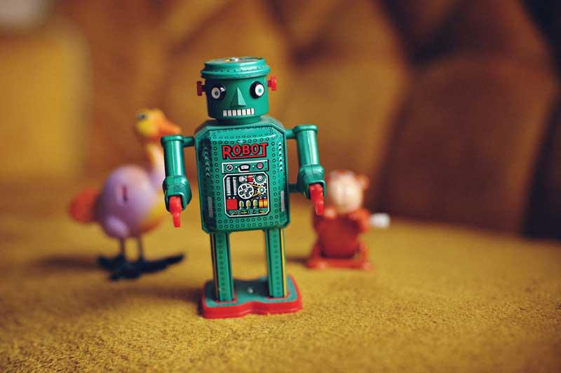 Robot Picture - Phillip Glickman - Unsplash